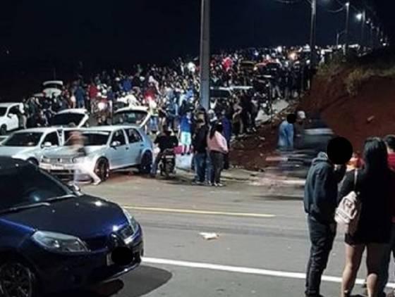 """Forças de segurança realizam grande operação de fiscalizações em """"bobódromos"""" de Cascavel"""