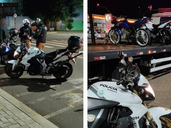 Polícia Militar apreende motocicletas com irregularidades; sendo um entregador de apenas 16 anos